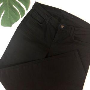 J BRAND Jet Black OP JETT Skinny Denim Jeans Sz 29
